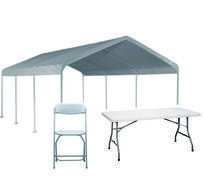 Tables, Chairs and Tents