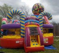 $120 Eye Catching Bounce Houses