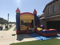 $210 Combo Bounce Houses With Water Slide