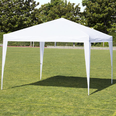 10 X 10 Pop Up Tent White