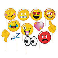 Emoji Photo Stick Props