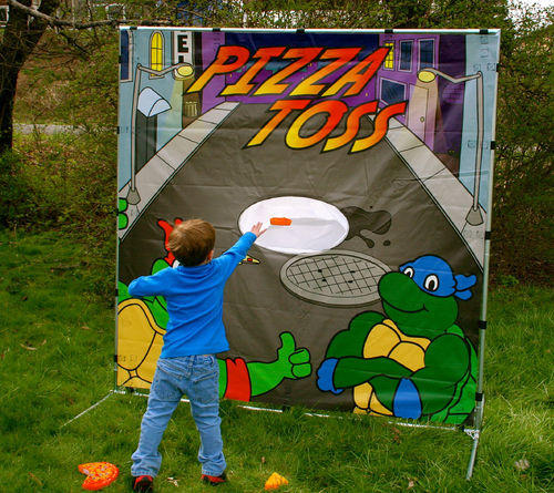 Pizza Toss Game