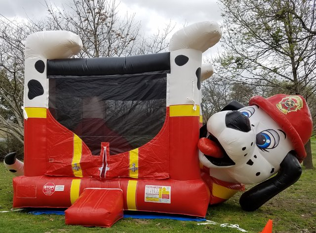 Fire Dog Belly Bouncer- (#15)