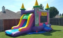 Princess Combo Bounce House- (#25)