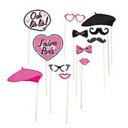 Paris Photo Stick Props