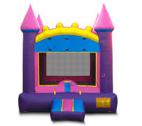 "<span style=""color:#ff0000;""><span style=""font-size:18px;"">Pink Princess Bouncy Castle (#5)</span></span><br />"