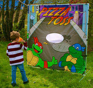 Pizza Toss Game-