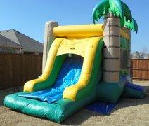 Tropical Combo Bounce House (#24)