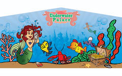 Under Water Princess Banner