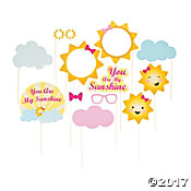 You Are My Sunshine Photo Stick Props