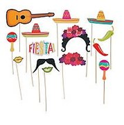 Fiesta Photo Stick Props