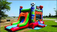 Sports Combo Bounce House- (#26)