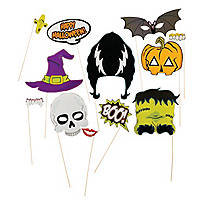 Halloween Photo Stick Props