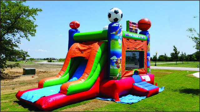 Sports Combo Bounce House (#26)