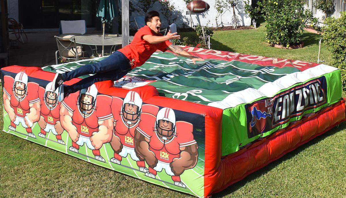 foot ball game rental