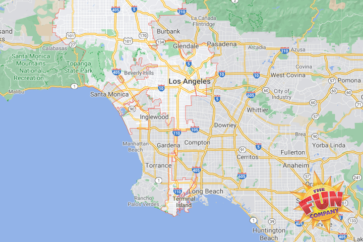 obstacle course rentals near me los angeles