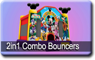 2in1 Combo Bouncers