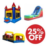 Obstacle Course, Castle and Dry Slide