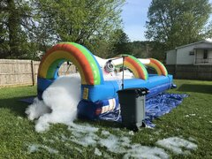 Slip and slide Foam Party Package Deal