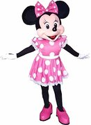 Minnie Mouse Character Look Alike