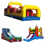Obstacle Course, Combo and Dry Slide