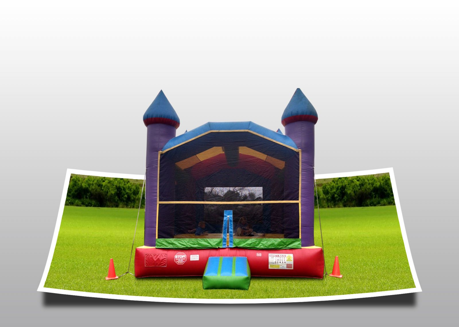 Large Castle Bouncer Rental