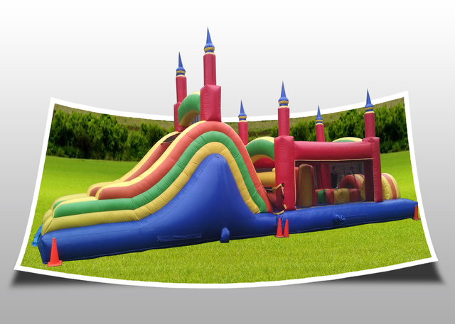 Castle Crash Obstacle Course
