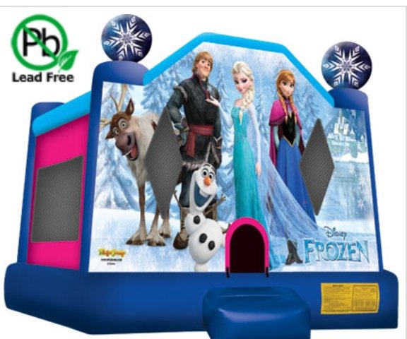 Large Disney Frozen Bounce House
