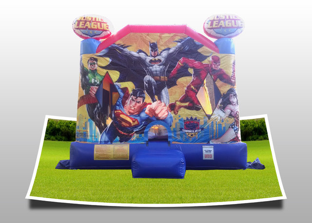 Justice League Combo Bouncer