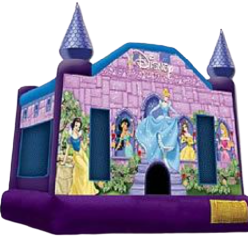 Medium Disney Princess Castle Bounce