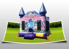 Medium Disney Princess Castle Bounce House
