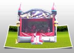 Large Rocket Ship Bounce House
