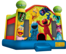 Medium Sesame Street Bounce