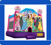 Large Disney Princess Bounce House