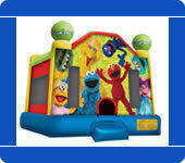 Medium Sesame Street Bounce House