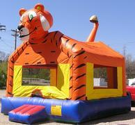 Large Tiger Bounce House