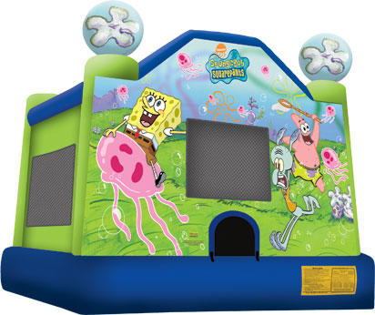 Medium Sponge Bob Bounce House