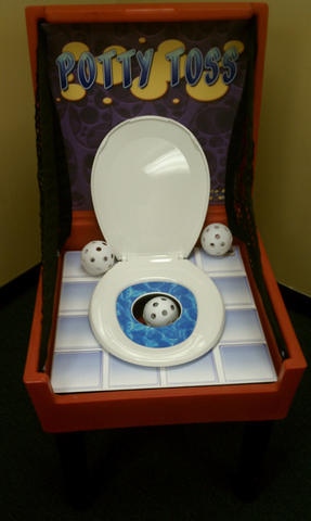 Potty Toss Box Game