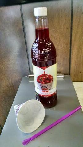 Sno Cone Syrup (Red)
