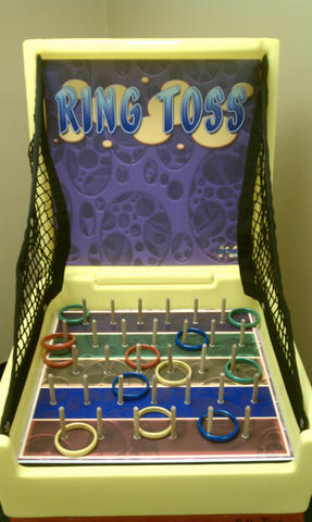 Ring Toss Box Game