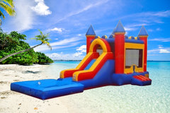 Bounce Houses with Water Slide