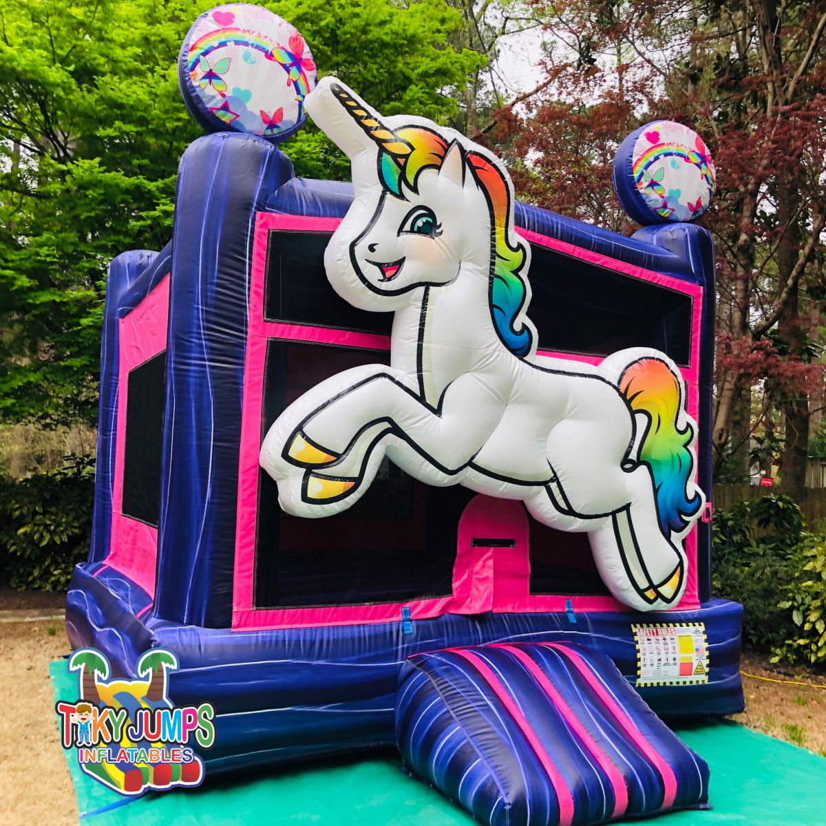 Bounce House Unicorn Rainbow Rental Memphis TN