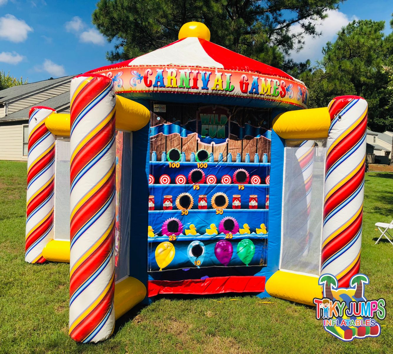 Inflatable Carnival Game Rental Near Me