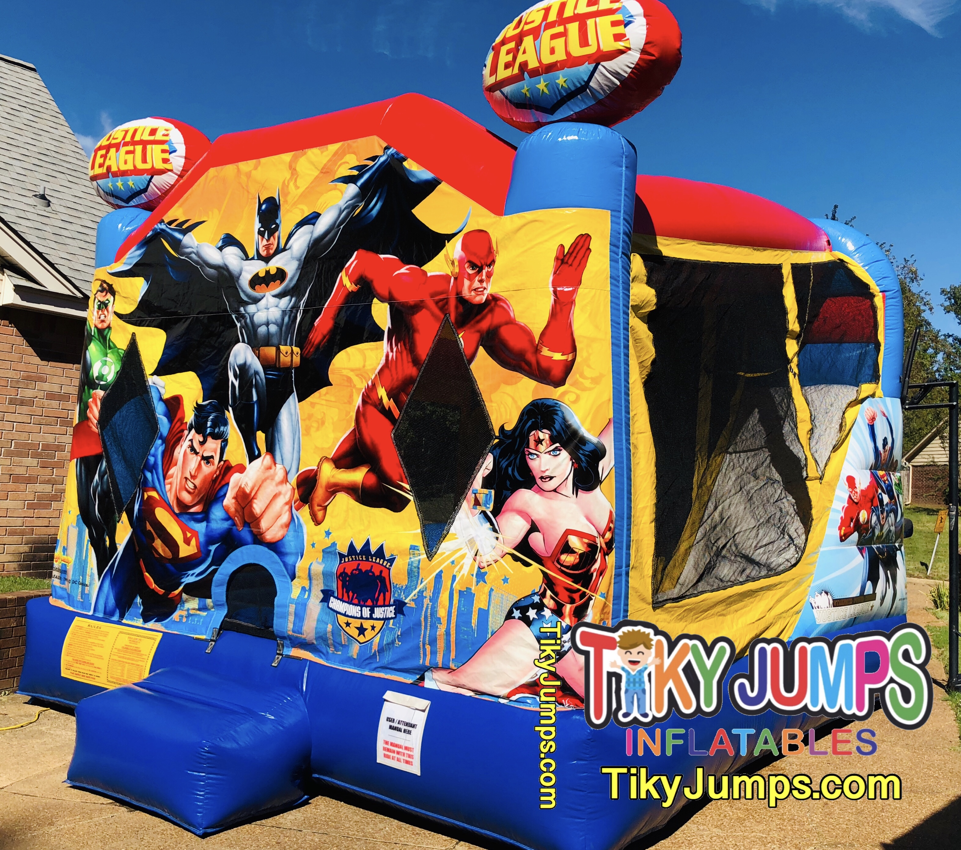 Justice League Wet Inflatable