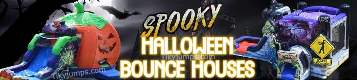 Spooky Halloween Bounce House Rental
