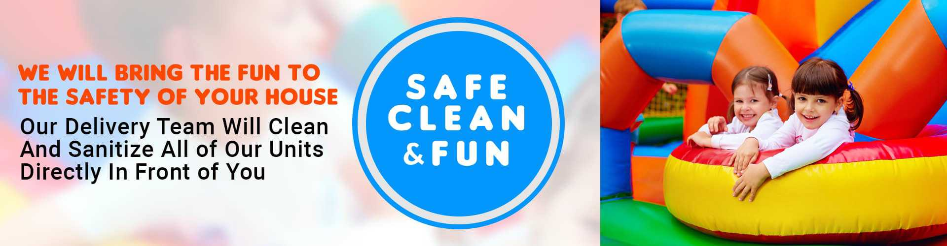 Clean ans Safe Inflatables