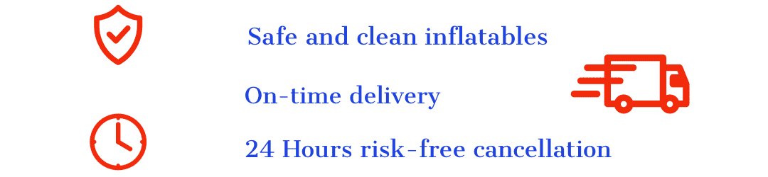 on time delivery Inflatables