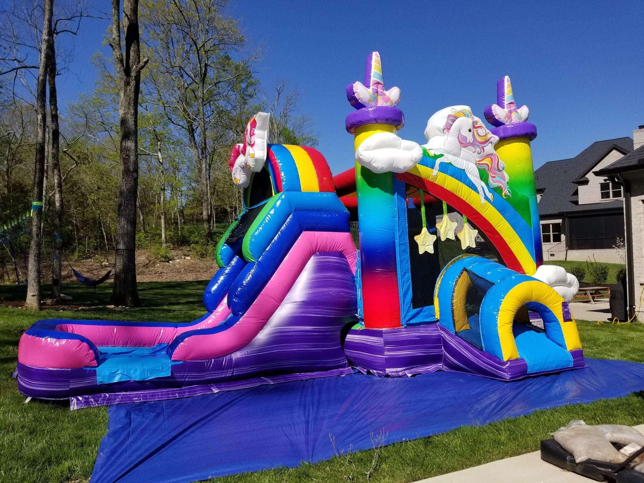 Unicorn Rainbow Bounce Rental