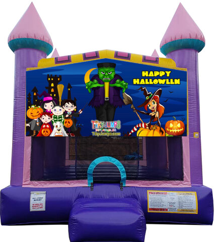 Halloween Dazzling Bounce House