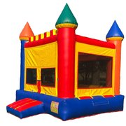 "<span style=""color:#0415BC;"">Bounce House"